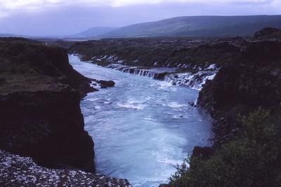 Hraunfossar Borgarfirði