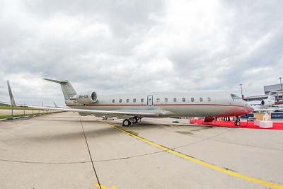 Vistajet Bombardier CL-600-2B19 Challenger 850 9H-ILV 5-20-19