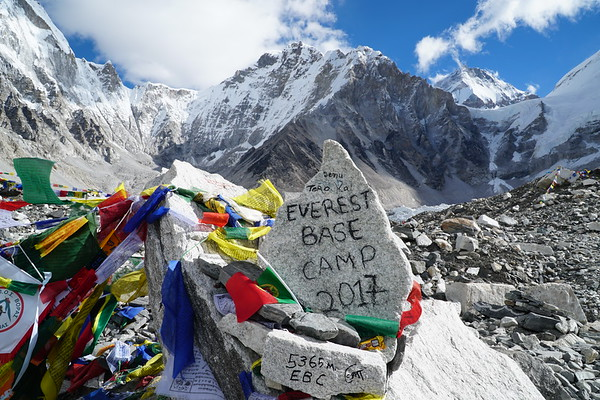 Everest Base Camp (17,688')