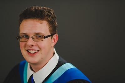 Aaron's Grad Portraits