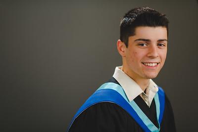 Jordan's Grad Portraits