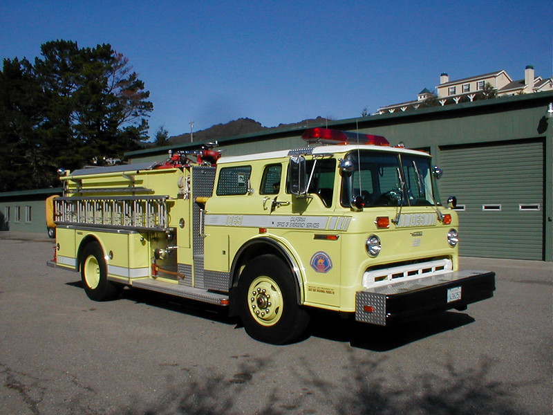 Retired engine on Loan from the California Office of Emergency Service