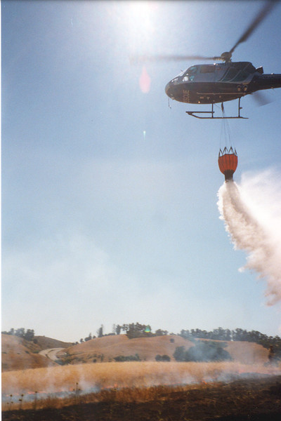 EBY helicopter water  drop