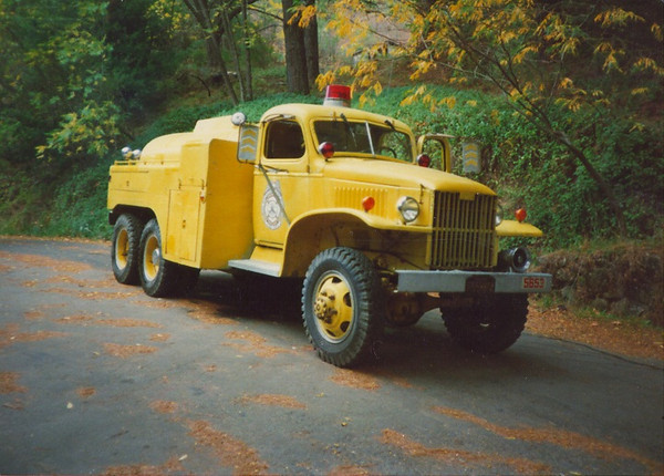 Retired fire truck from  the 60's