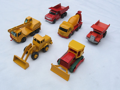Construction Site Vehicle Collection