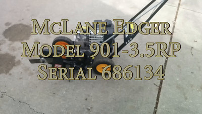 2015-04-13 McLane Edger for Sale