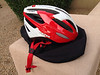 Lazer Neon Helmet w/bag S-M size - used only a couple of times, $25