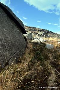 Split Rock and Ruins (Vertical view)