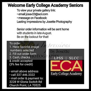 Early College Academy Seniors 2020
