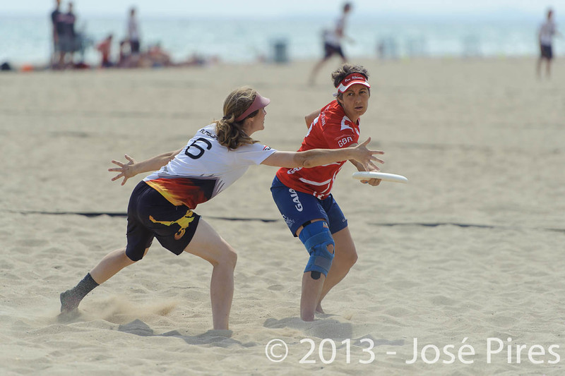 ECBU 2013. Calafell. Spain.<br /> Great Britain vs Germany. Mixed Masters Division.<br /> PhotoID : 2013-06-28-0871