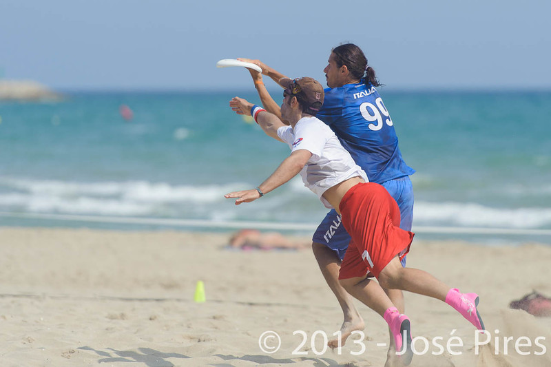 ECBU 2013. Calafell. Spain.<br /> France vs Italy. Open Masters Division.<br /> PhotoID : 2013-06-27-0116