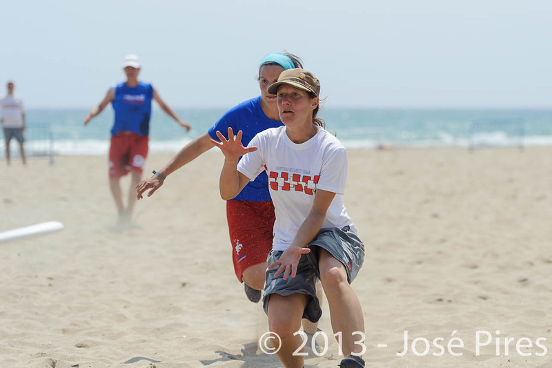 ECBU 2013. Calafell. Spain.<br /> France vs Austria. Mixed Masters Division<br /> PhotoID : 2013-06-27-0013