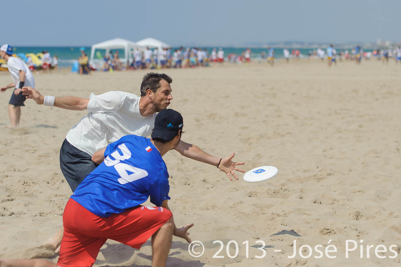 ECBU 2013. Calafell. Spain.<br /> Switzerland vs France. Open Division.<br /> PhotoID : 2013-06-28-0527
