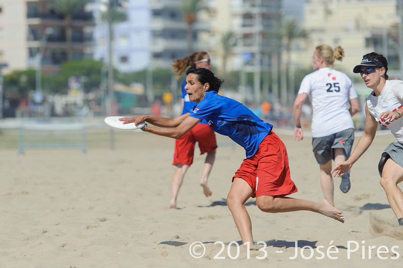 ECBU 2013. Calafell. Spain.<br /> Austria vs France. Mixed Masters Division.  3rd Place.<br /> PhotoID : 2013-06-29-1494