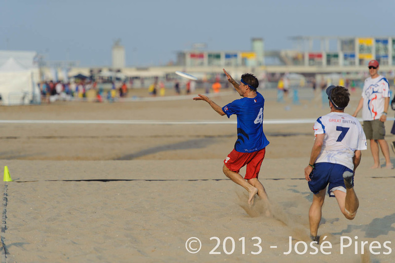 ECBU 2013. Calafell. Spain.<br /> Great Britain vs France. Grand Masters Division.<br /> PhotoID : 2013-06-27-0276