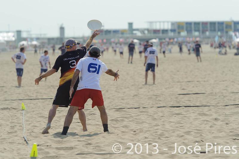 ECBU 2013. Calafell. Spain.<br /> Germany vs France. Grand Masters Division.<br /> PhotoID : 2013-06-28-0387