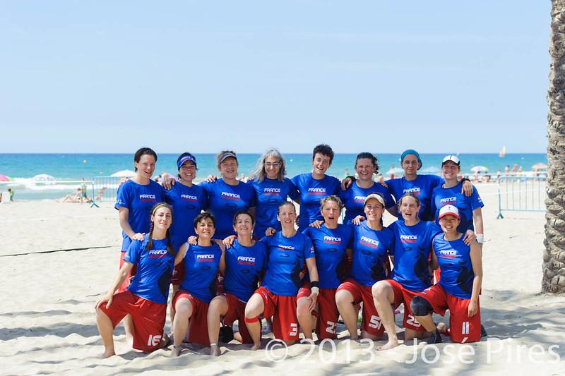 ECBU 2013. Calafell. Spain.<br /> France Women's Masters.<br /> PhotoID : 2013-06-29-1289