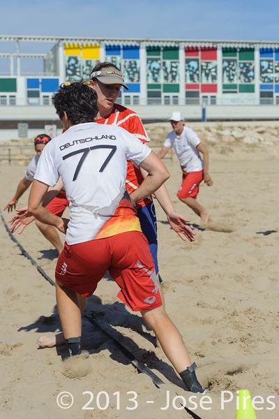 ECBU 2013. Calafell. Spain.<br /> Germany vs Great Britain. Women's Masters. Final.<br /> PhotoID : 2013-06-29-1572