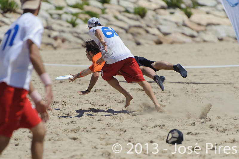 ECBU 2013. Calafell. Spain.<br /> France vs Netherlands. Open Masters Division.<br /> PhotoID : 2013-06-29-1327