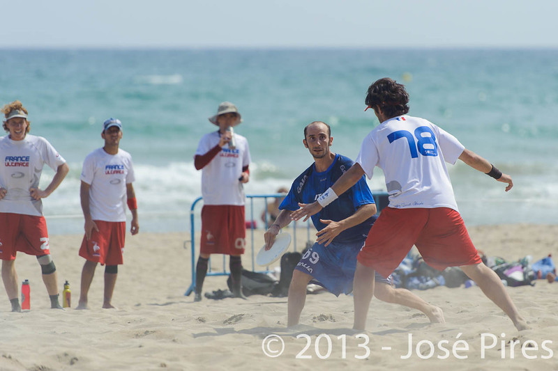 ECBU 2013. Calafell. Spain.<br /> France vs Italy. Open Masters Division.<br /> PhotoID : 2013-06-27-0112