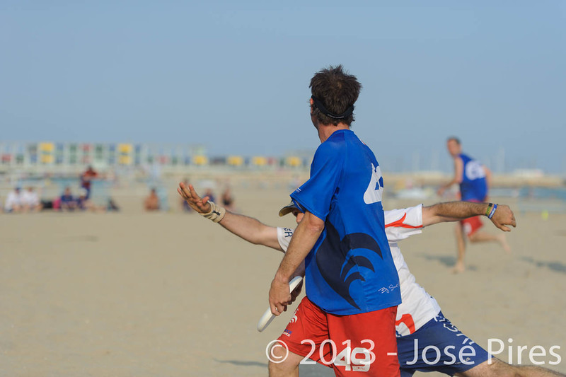 ECBU 2013. Calafell. Spain.<br /> Great Britain vs France. Grand Masters Division.<br /> PhotoID : 2013-06-27-0226