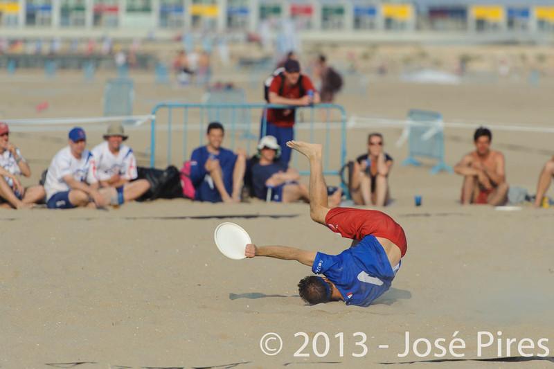 ECBU 2013. Calafell. Spain.<br /> Great Britain vs France. Grand Masters Division.<br /> PhotoID : 2013-06-27-0188