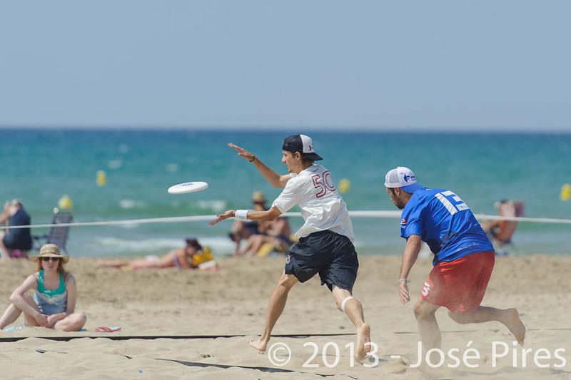 ECBU 2013. Calafell. Spain.<br /> Switzerland vs France. Open Division.<br /> PhotoID : 2013-06-28-0536