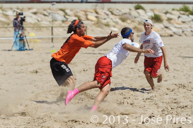 ECBU 2013. Calafell. Spain.<br /> France vs Netherlands. Open Masters Division.<br /> PhotoID : 2013-06-29-1393