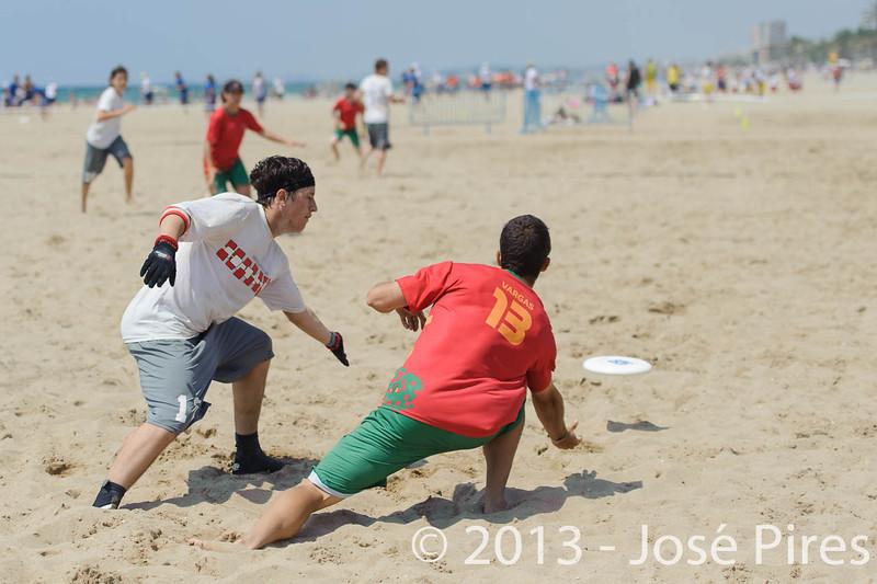 ECBU 2013. Calafell. Spain.<br /> Portugal vs Austria. Mixed Division.<br /> PhotoID : 2013-06-28-0647