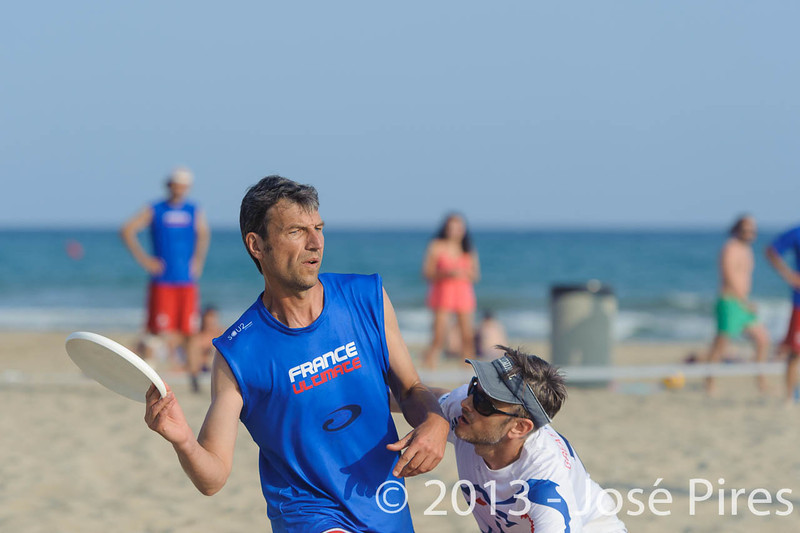 ECBU 2013. Calafell. Spain.<br /> Great Britain vs France. Grand Masters Division.<br /> PhotoID : 2013-06-27-0157