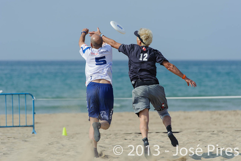 ECBU 2013. Calafell. Spain.<br /> Austria vs Great Britain. Grand Masters Division.<br /> PhotoID : 2013-06-28-0349