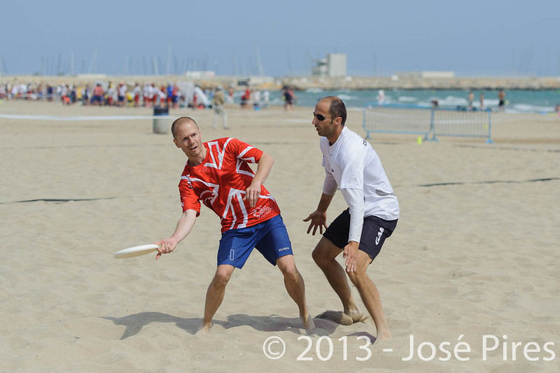 ECBU 2013. Calafell. Spain.<br /> Great Britain vs Germany. Mixed Masters Division.<br /> PhotoID : 2013-06-28-0839