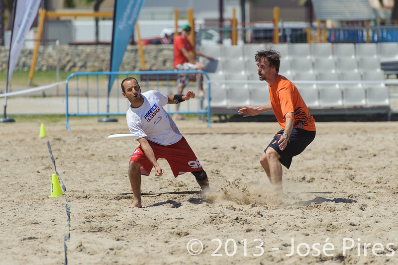 ECBU 2013. Calafell. Spain.<br /> France vs Netherlands. Open Masters Division.<br /> PhotoID : 2013-06-29-1411