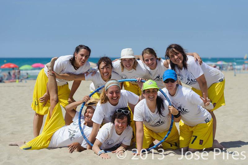 ECBU 2013. Calafell. Spain.<br /> United European Islands  Women's Masters.<br /> PhotoID : 2013-06-29-1271