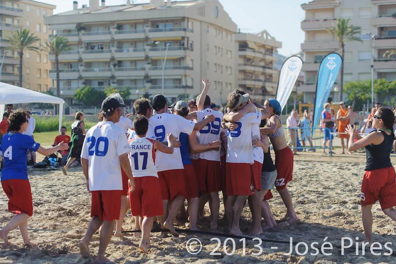 ECBU 2013. Calafell. Spain.<br /> Austria vs France. Grand Masters. Final.<br /> PhotoID : 2013-06-29-2022