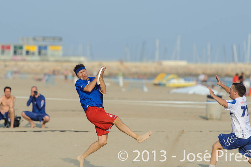ECBU 2013. Calafell. Spain.<br /> Great Britain vs France. Grand Masters Division.<br /> PhotoID : 2013-06-27-0187
