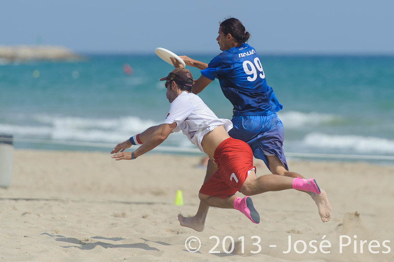 ECBU 2013. Calafell. Spain.<br /> France vs Italy. Open Masters Division.<br /> PhotoID : 2013-06-27-0117