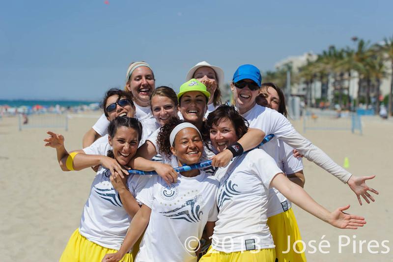 ECBU 2013. Calafell. Spain.<br /> United European Islands  Women's Masters.<br /> PhotoID : 2013-06-29-1284