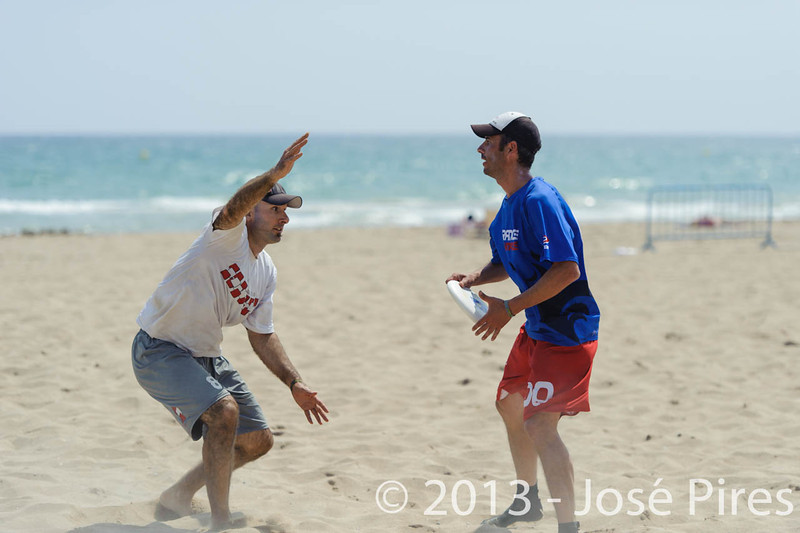 ECBU 2013. Calafell. Spain.<br /> France vs Austria. Mixed Masters Division.<br /> PhotoID : 2013-06-27-0069