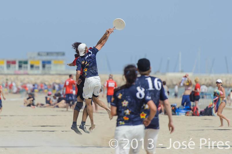 ECBU 2013. Calafell. Spain.<br /> Turkey vs United European Islands. Mixed Division.<br /> PhotoID : 2013-06-28-0739