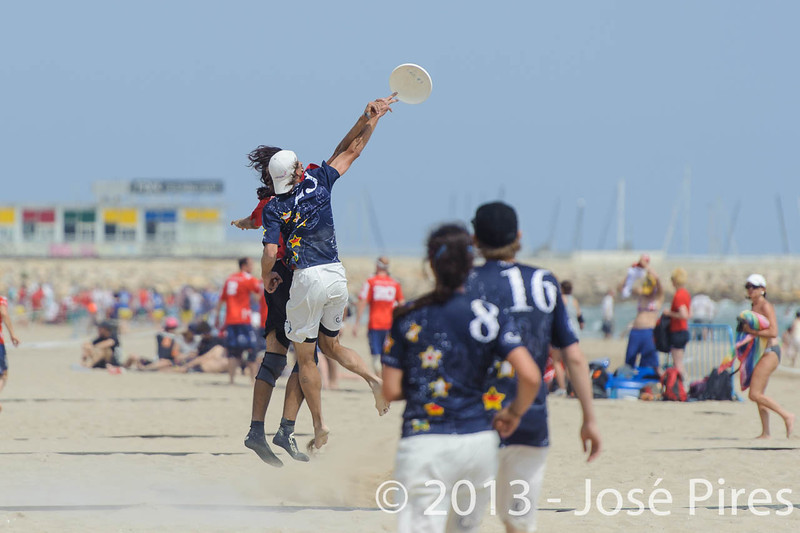 ECBU 2013. Calafell. Spain.<br /> Turkey vs United European Islands. Mixed Division.<br /> PhotoID : 2013-06-28-0739