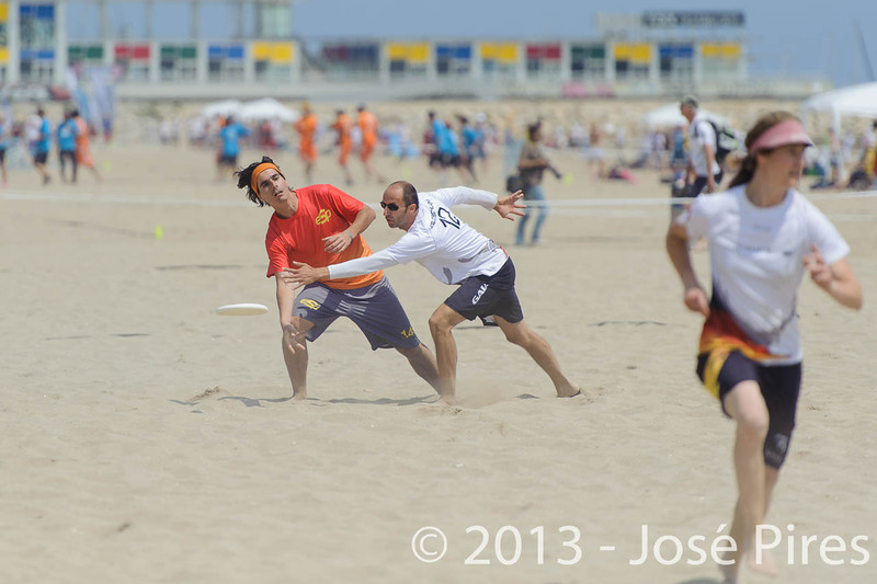 ECBU 2013. Calafell. Spain.<br /> Germany vs Spain. Mixed Masters Division<br /> PhotoID : 2013-06-27-0023