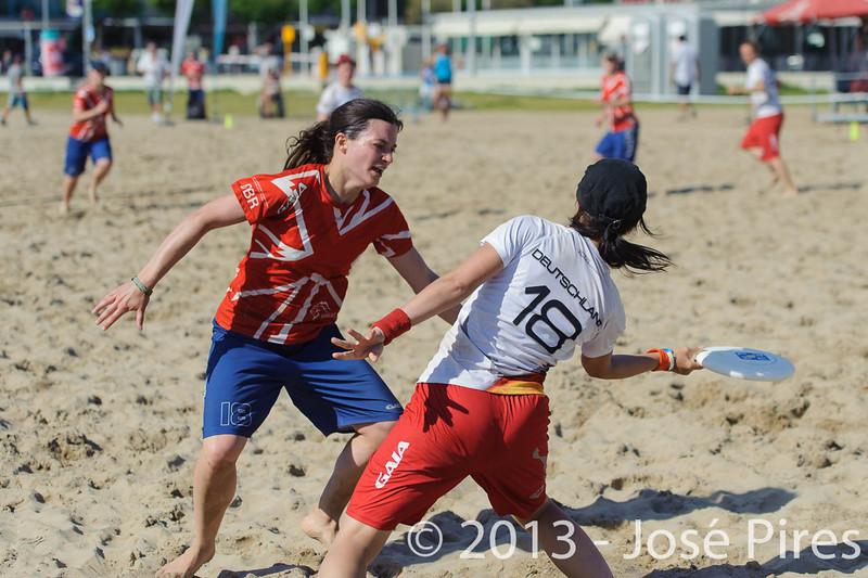 ECBU 2013. Calafell. Spain.<br /> Germany vs Great Britain. Women's Masters. Final.<br /> PhotoID : 2013-06-29-1595