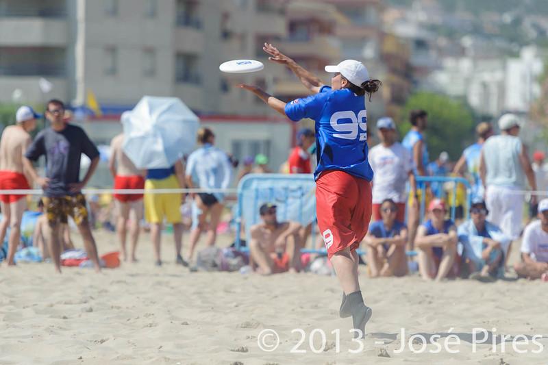 ECBU 2013. Calafell. Spain.<br /> Austria vs France. Mixed Masters Division.  3rd Place.<br /> PhotoID : 2013-06-29-1440