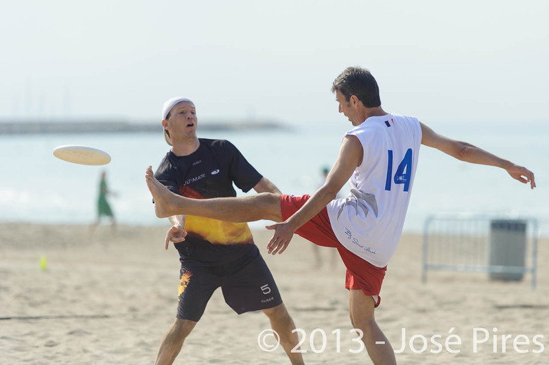 ECBU 2013. Calafell. Spain.<br /> Germany vs France. Grand Masters Division.<br /> PhotoID : 2013-06-28-0331