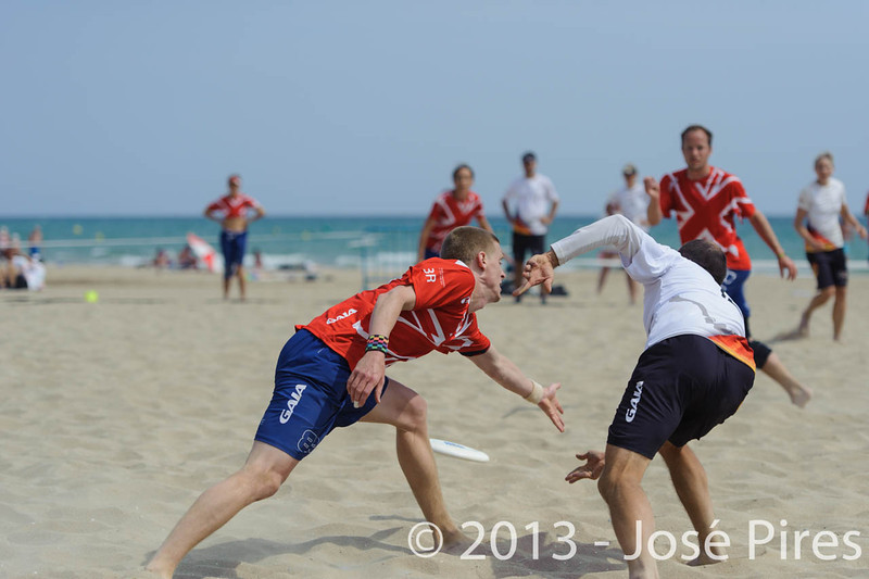 ECBU 2013. Calafell. Spain.<br /> Great Britain vs Germany. Mixed Masters Division.<br /> PhotoID : 2013-06-28-0824