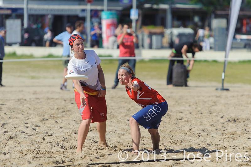 ECBU 2013. Calafell. Spain.<br /> Germany vs Great Britain. Women's Masters. Final.<br /> PhotoID : 2013-06-29-1581