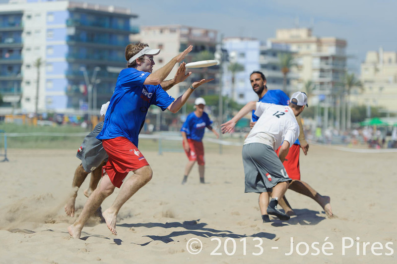 ECBU 2013. Calafell. Spain.<br /> Austria vs France. Mixed Masters Division.  3rd Place.<br /> PhotoID : 2013-06-29-1458