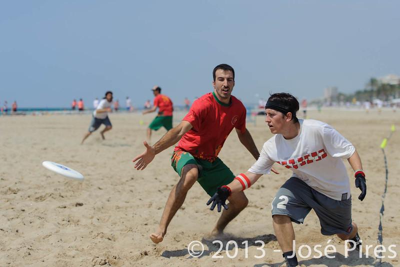 ECBU 2013. Calafell. Spain.<br /> Portugal vs Austria. Mixed Division.<br /> PhotoID : 2013-06-28-0575