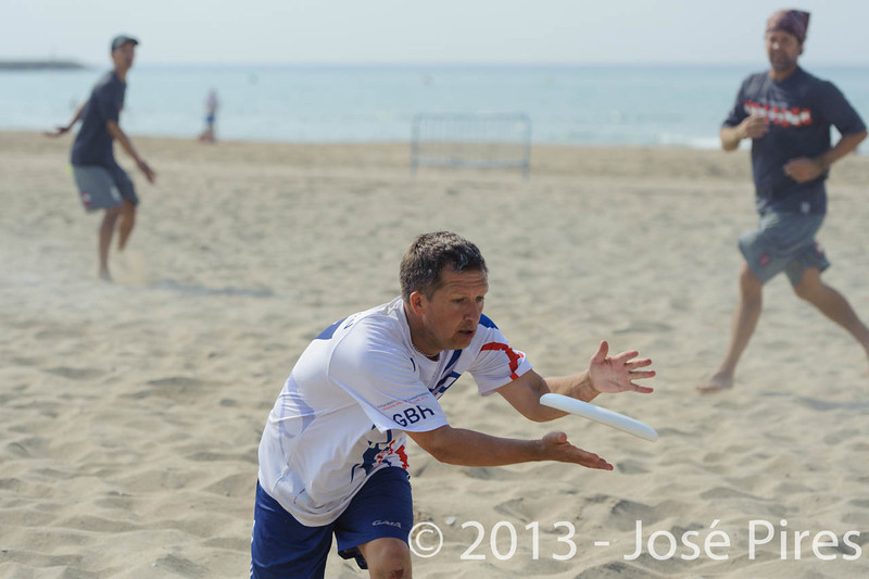 ECBU 2013. Calafell. Spain.<br /> Austria vs Great Britain. Grand Masters Division.<br /> PhotoID : 2013-06-28-0361